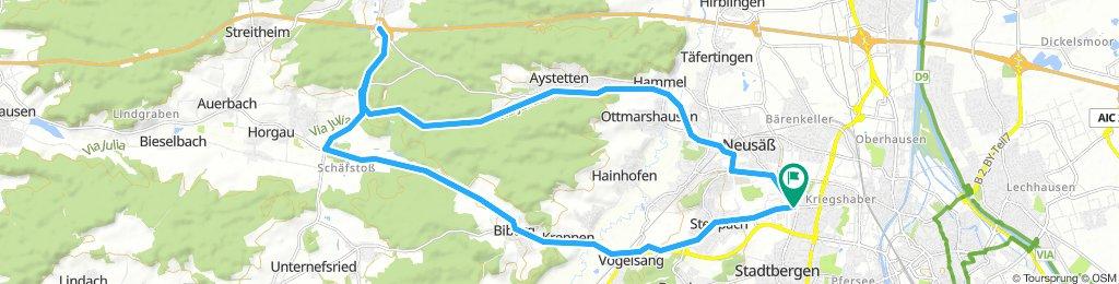 Horgau Trainingsrunde - Tim