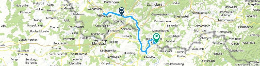Saarland-Radweg 6.Etappe