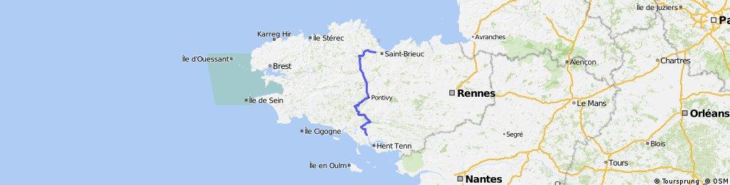 Tour de France 08, Étape 02, Auray - Saint-Brieuc