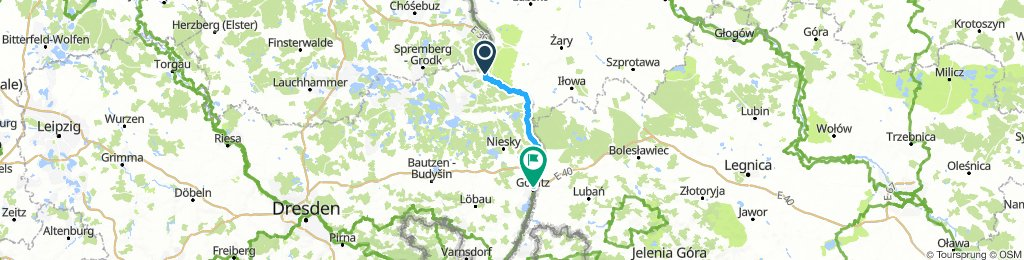 Bad Muskau to Gorlitz