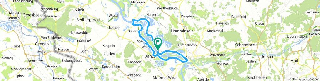 Bislich - Wesel - Xanten - Rees