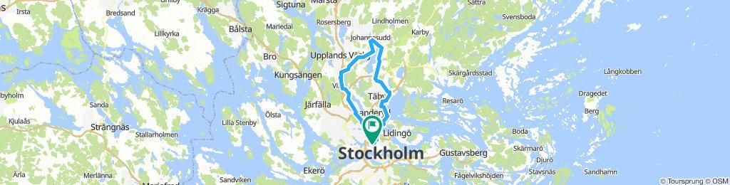 Stockholm - Vallentuna - Stockholm