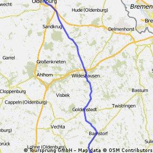 Wagenfeld - Wildeshausen - Rastede