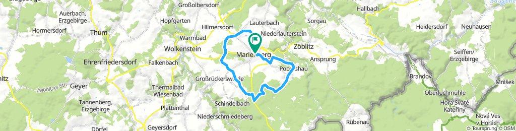 Lengthy Freitag Route In Marienberg