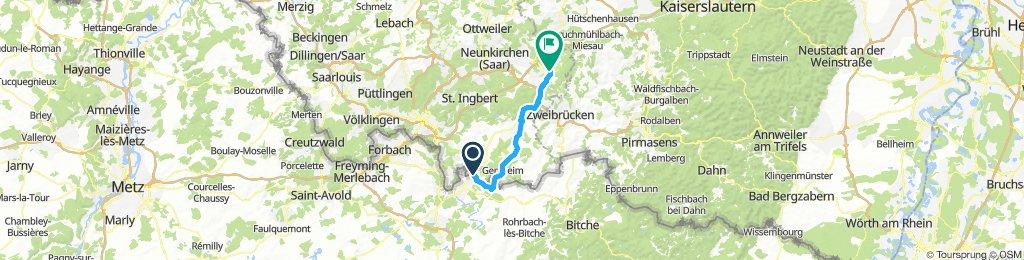 Saarland-Radweg 7.Etappe