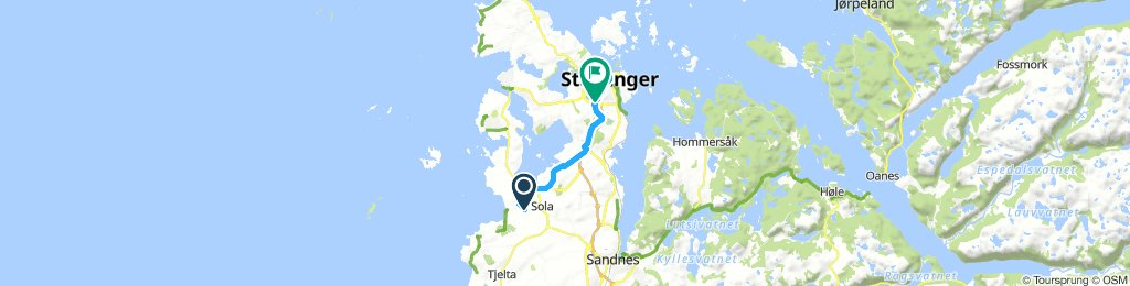 Norway 1: Stavanger airport-Stavanger