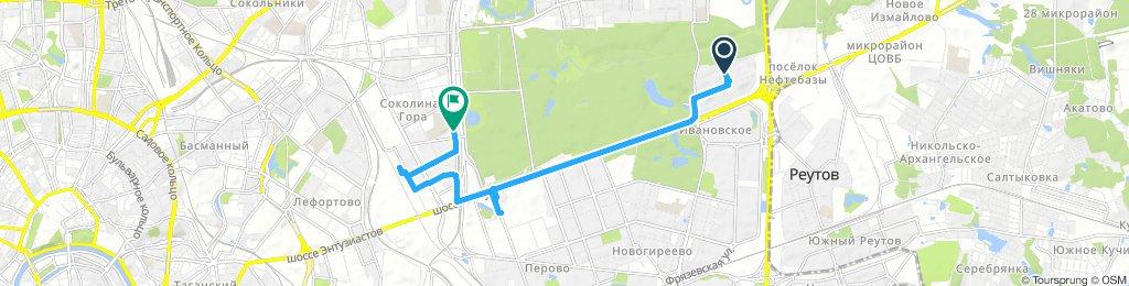 Велозаборы утренние Московские ч1