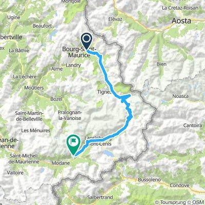 dag 3 Séez - Aussois 95km