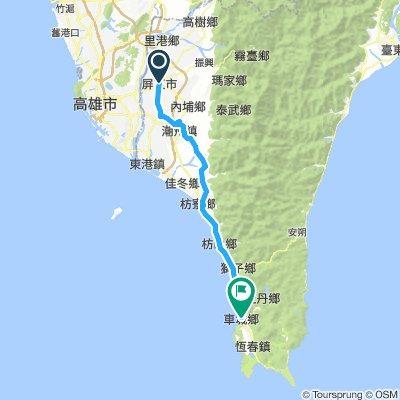 Day six (82km, 50.9m)
