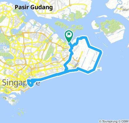 Pasir Ris / Barrage / Changi Village / Pasir Ris