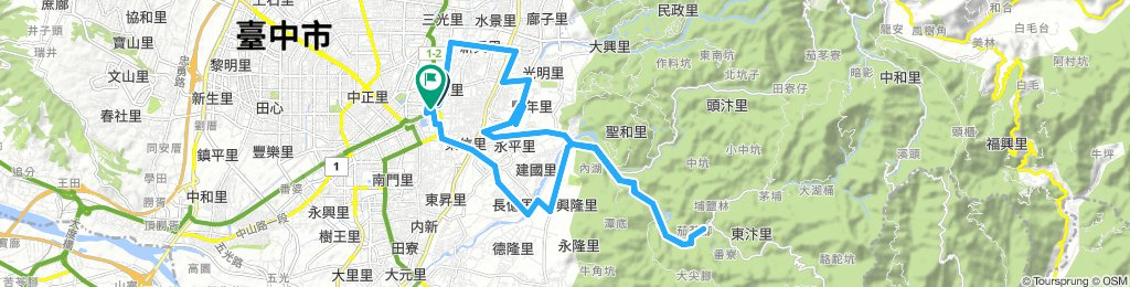 Extensive 星期六 Ride In 東區