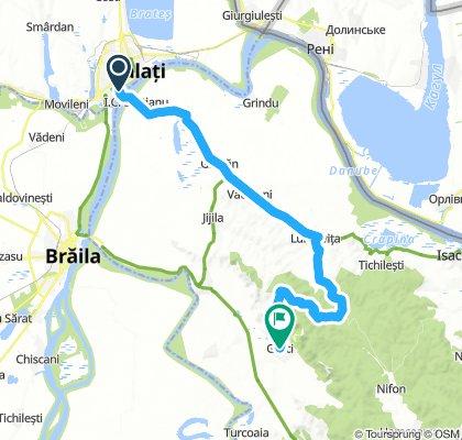 Lengthy bike tour through Greci