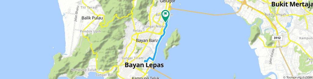 Lengthy Afternoon Track In Kampung Sungai Dua Bukit