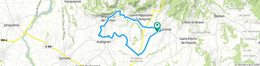 La Syrah (Caromb)-Beaumes-Canal de Carpentras-Serres