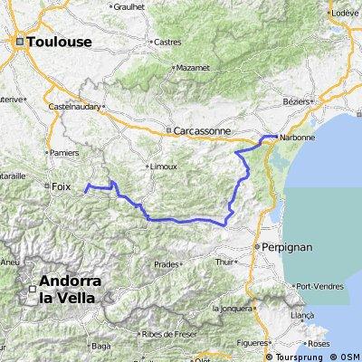 Tour de France 08, Étape 12, Lavelanet - Narbonne