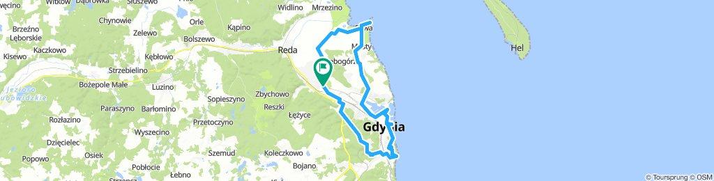 POLAND: Rumia - Rewa - Gdynia - Rumia