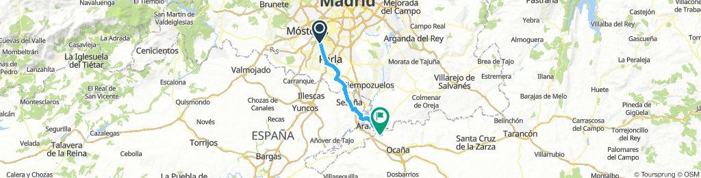 Fuenlabrada (puente c/ francia) a Aranjuez y Ontigola