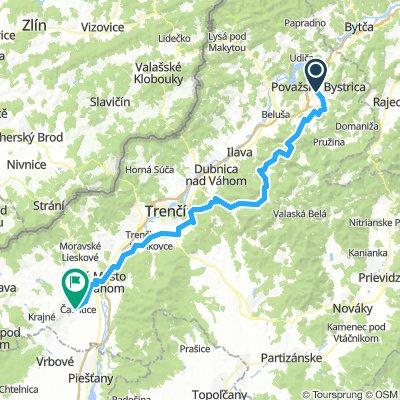 Z Považskej Bystrice do Čachtíc cez Strážovské vrchy