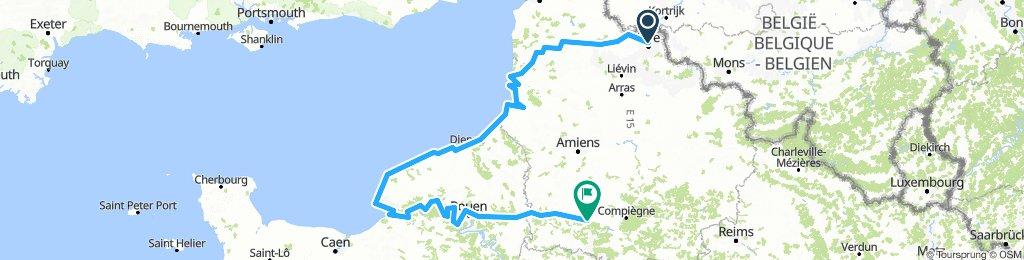 Lille - Le Havre - Clermont