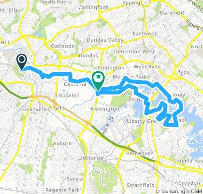 Parramatta Cycleway
