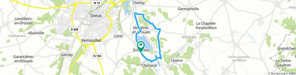 Steady Dimanche Route In Écluzelles
