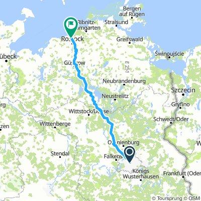 Berlin to Rostock