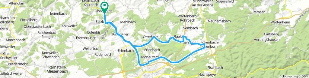 Lauter - Otterbach - Eselsbach - Lauter