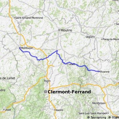 Tour de France 08, Étape 19: Roanne - Montluçon
