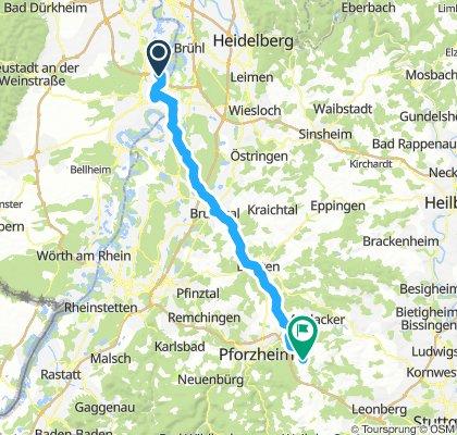 Bodensee neu Binshof nach Öschelbronner Str. 111, 75449 Wurmberg