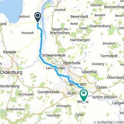 Rodenkirchen Weyhe 75 km
