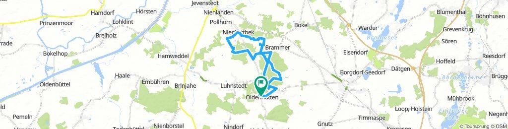 Snail-Like Sonntag Ride In Oldenhütten