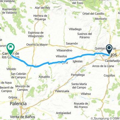 Day5- Burgos - Carrion de los Condes