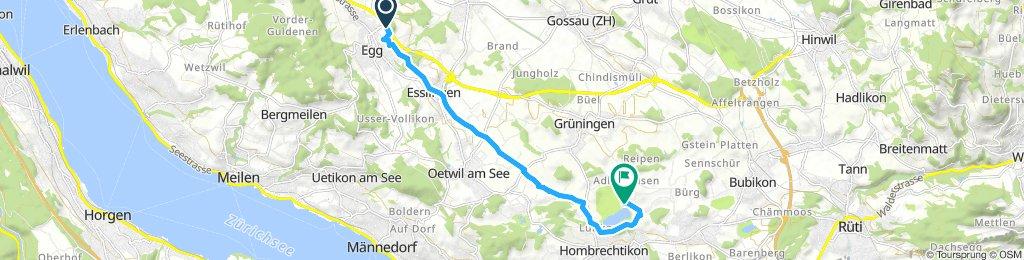 Magic-Bike Fahrt Egg/ZH zum Lützelsee