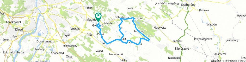 Hétvégi edzés - Gyömrő - Tápióbicske