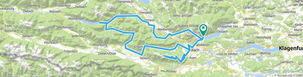 Kärnten-Giro 2018-Annenheim-Windische Höhe-Villacher Alpenstraße 160km-3050m
