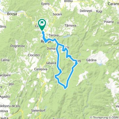 Cheile Caraşului - Valea Bârzavei