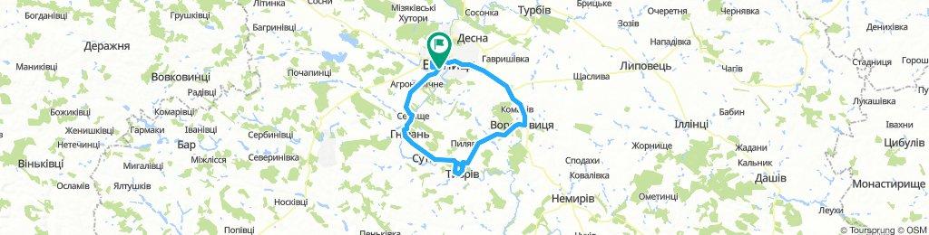 Vinnytsia 100 km