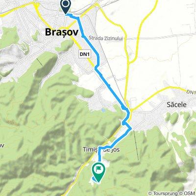 Gara Brasov - 7 Scari cu bicicleta