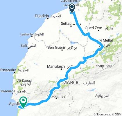 Kasablanca-Agadir