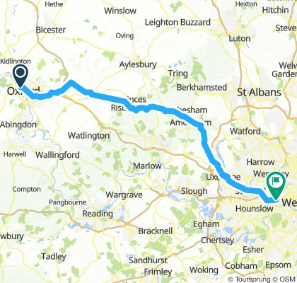 Day 1: Oxford to London