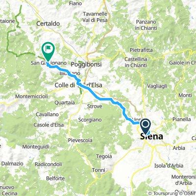 Siena-San Gimignano