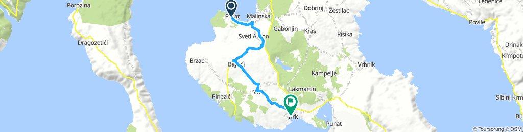 kroatien inselhüpfen, porat