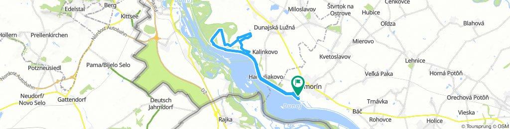 Endurance World Championcip Šamorin Yellow  loop 30 km