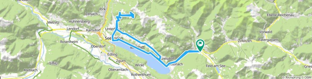 Kärnten-Giro 2018 - Radenthein-Millstatt-Tschiernock Panoramastrasse 61km-1400Hm