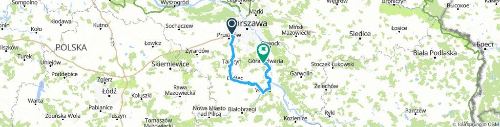 Piastow - Tarczyn - Grojec - Warka - G.Kalwaria