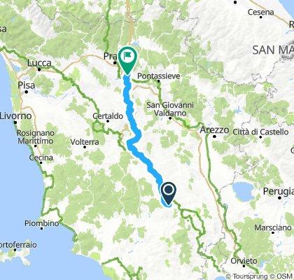 Dag 5, Giro d'Toscana