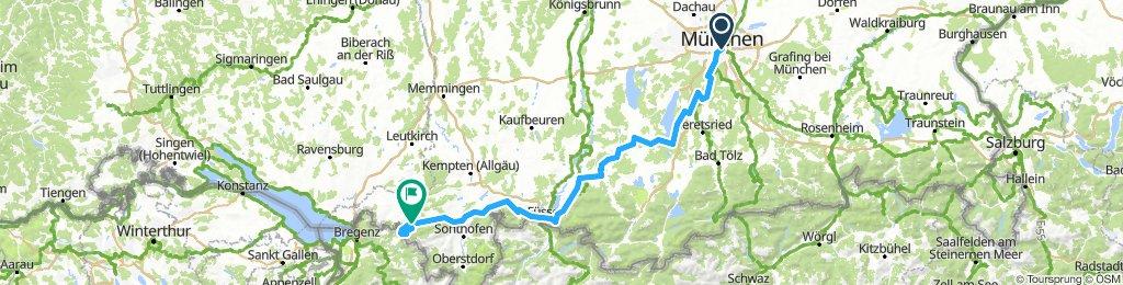 München - Oberstaufen