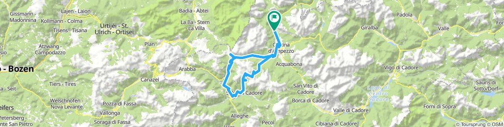 Dolomiti: Passo FALZAREGO i GIAU - ?