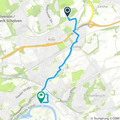 Katernberg Richtung Ruhr über Steele
