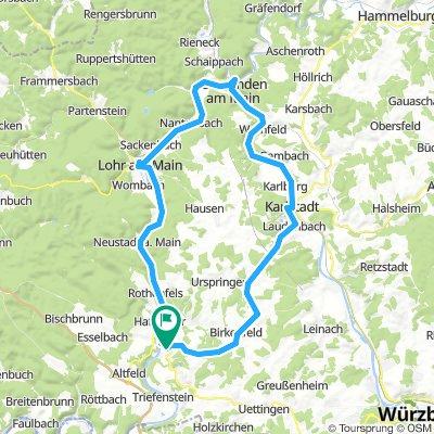 MAR - KAR über Laudenbach